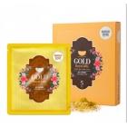 KOELF Гидрогелевая маска для лица с золотом и маточным молочком