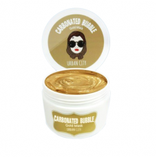 BAVIPHAT Urban City Carbonated Gold Bubble Mask
