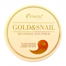 ESTHETIC HOUSE Gold & Snail Hydrogel Eye Patch