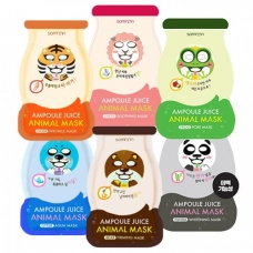 SCINIC Somoon Ampoule Juice Animal Mask