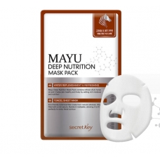 SECRET KEY MAYU Deep Nutrition Mask Pack