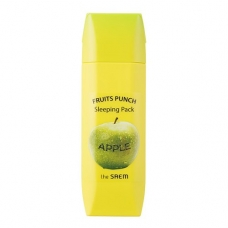 THE SAEM Fruits Punch Apple Sleeping  Pack