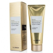 THE SAEM Snail Essential EX Wrinkle Solution Deep Cleansing Foam