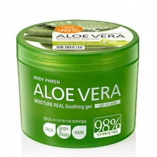 WELCOS Kwailnara Aloe Vera Moisture Real Soothing Gel 98%