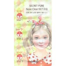 THE SAEM Secret Pure Nose Clear Kit 1-2-3